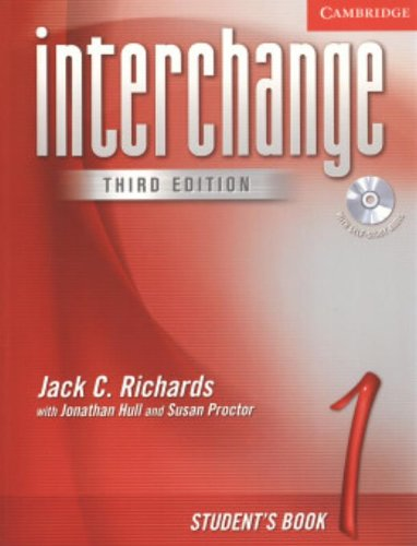 Interchange Student's Book 1 with Audio CD, 3rd Edition