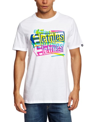 Etnies Blendy Shortsleeve Printed Men's T-Shirt White Large