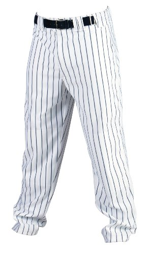 White Pinstripe Pants