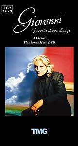 Giovanni Favorite Love Songs on 3 CDs, Plus Bonus Music DVD