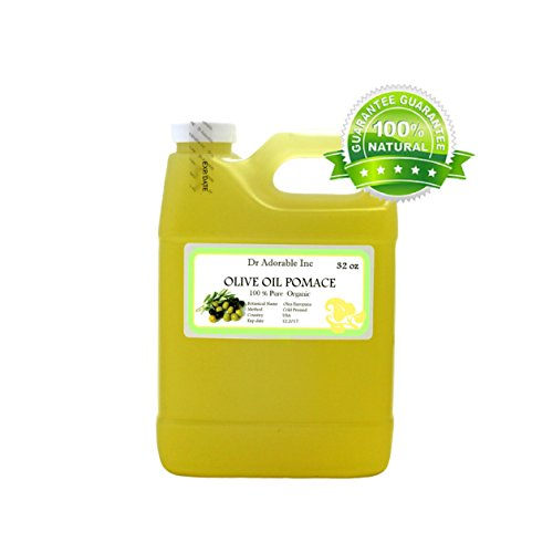 32 OZ Organic Olive Pomace Oil Cold Pressed Pure Premium