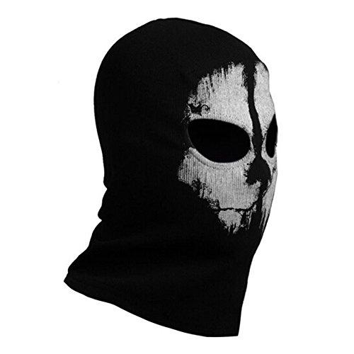 Call Of Duty 10 Cod Ghosts Logan Balaclava Ski Skull Hood: Bele Bele Call Of Duty 10 COD Ghost Hoods Skull Skeleton