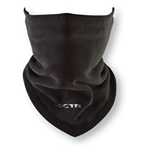 Chaos -CTR Chinook Micro Fleece Neck Gaiter/Tube, Black, One Size