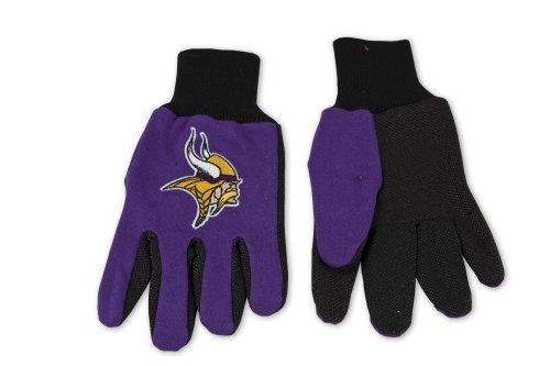 Top NFL Minnesota Vikings Two-Tone Gloves