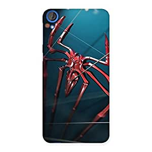 Enticing Climbing Spider Multicolor Back Case Cover for HTC Desire 820s