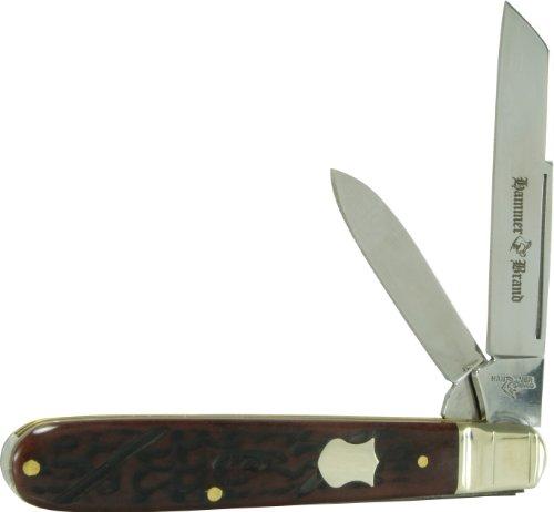 Hammer Brand HB8 Jack Knife, Brown Pick Bone