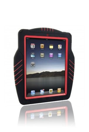 Trident Kraken Hybrid Case for iPad (Red)