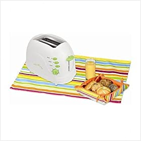 Kalorik Sunny Morning 2-slice Extra-wide Lime Green Toaster TO25908L