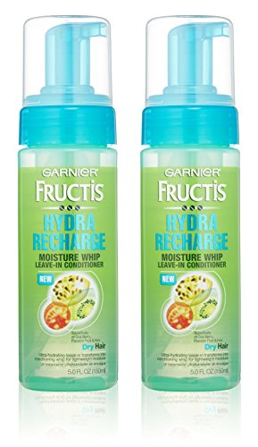 Garnier Fructis Haircare - Hydra Recharge - Moisture Whip Leave-In Conditioner - For Dry Hair - Net Wt. 5 FL OZ (150 mL) Per Bottle - Pack of 2 (Discontinued By Manufacturer) (Leave In Conditioner Garnier compare prices)