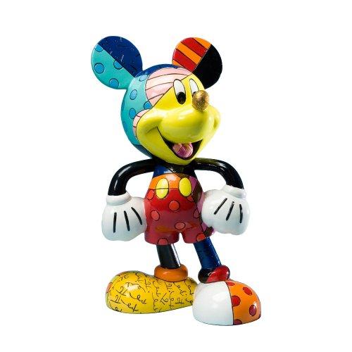Disney 4019372 Topolino Figurina Resina, Design di Romero Britto, 20.5 cm