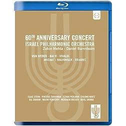 60th Anniversary Concert: Israel Philharmonic Orchestra (Blu Ray) [Blu-ray]