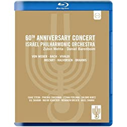 60th Anniversary Concert: Israel Philharmonic Orchestra (Blu Ray) [Blu-ray]