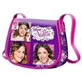 Disney - Violetta Shoulder Bag with Clip Closure - Fancy Collage