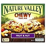 Nature Valley Chewy Trail Mix Fruit & Nut 6 X 30G
