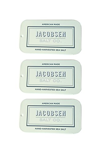 [Jacobsen Salt Co. Slide Tin 0.42 OZ - 3 Pack] (Water Meter Costume)