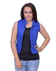 Snoby Blue Half Jacket (SBY11017)