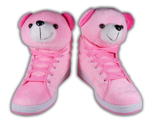 P.Hsu's Women's Pink Teddy Bear 7.5 B(M) SF0002P
