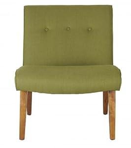 Safavieh Mercer Collection Owen Green Lounge Chair