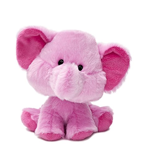Aurora World Wobbly Bobblees Elle Elephant Plush
