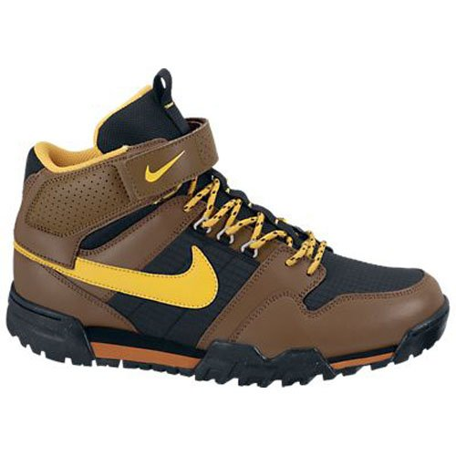 Nike Men'S Mogan Mid 2 Oms Military Brown/Unvrsty Gld/Blk Hiking Shoes 9.5 Men Us