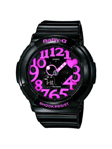 Baby-G Ladies Watch BGA-130-1BER with Combi Resin Strap