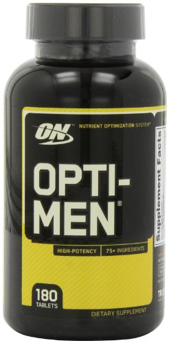 Optimum Nutrition Opti-Men Multivitamins, 180-Count