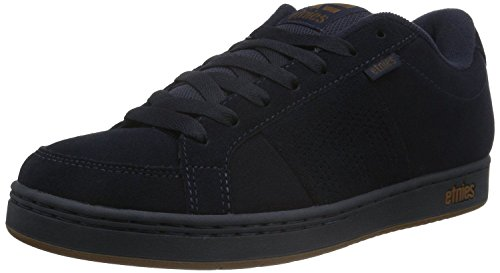 Etnies Kingpin Navy Gum Suede Mens Skate Trainers Shoes-7