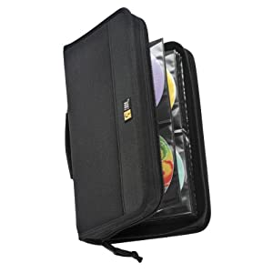 Case Logic CDW-92 Nylon CD/DVD Wallet 100-Capacity
