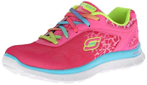 Skechers Skech AppealSerengeti, Sneaker Bambina, Multicolore (Mehrfarbig (NPMT)), 34