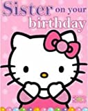Hello Kitty Sister Birthday Card