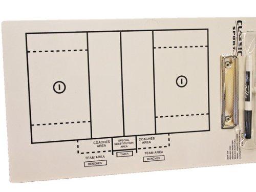 907 Lacrosse Coaching Board / Clipboard (Lacrosse Dry Erase Board compare prices)