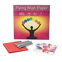 Flying Wish Paper Chakra, Large by Flying Wish Paper
