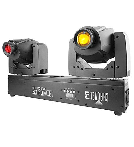 Chauvet Lighting INTIMSPOTDUO150 DJ Intimidator Spot Duo 150 Projection Lighting Effect (Chs Duo compare prices)