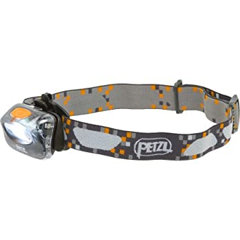 Petzl-Lampe Frontale Power Led Petzl Tikka Plus 2 Grise + Adaptateurs + 1 LED Rouge + Piles