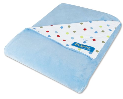 Trend Lab Dr. Seuss Receiving Blanket, One Fish Two Fish Dot front-240873