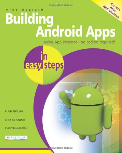 Building Android Apps in Easy Steps, Buch