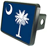 "South Carolina Flag Hitch Cover 2"" Receiver from Redeye Laserworks"
