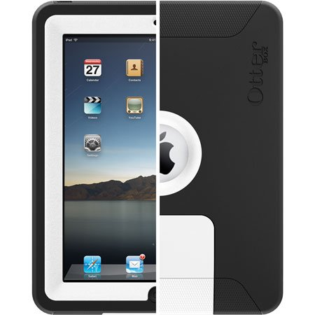 OtterBox Defender Series f/ Apple iPad White/Black