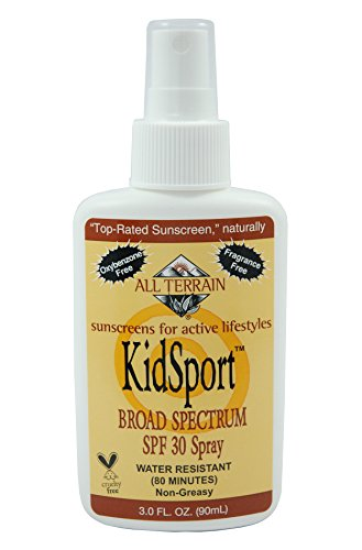 All Terrain Kidsport Spf30 Natural Sunscreen Spray (3- Ounce)