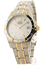 Wenger Swiss Military Elite Two-Tone Stainless Steel Date Women's Watch