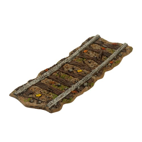 Department 56 Halloween Seasonal Decor Accessories for Village Collections, Haunted Rails Straight Track Road, 0.47-Inch