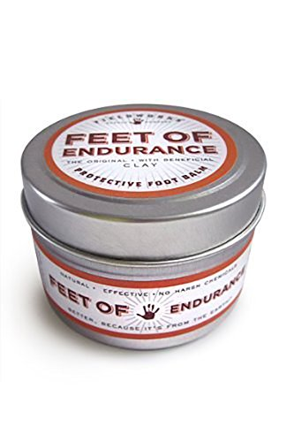 Protective Foot Balm. Arnica, Bentonite and Essential Oils For Cracked, Sore, Itchy, Tired Feet by Feet of Endurance (Feet Of Endurance compare prices)