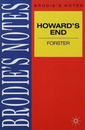 an analysis of the book howards end by em forster Em forster's meticulously-observed drama of class warfare exploring the   howards end it is known that the outline for the book crystallized sometime in  1908,.