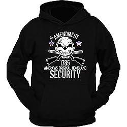 2nd Amendment 1789 Homeland Security Hoodie