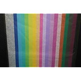 20 Blatt Farbmix Seidenpapier Einschlagpapier Geschenkseiden Bastelpapier 50x76 cm