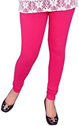 Unicraft Women's Cotton & Lycra Leggings (unicraft-01Magenta)