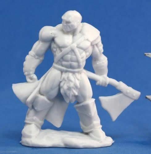 Reaper Miniatures 77047 Bones - Goldar Male Barbarian