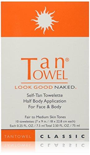 TanTowel - Half Body Classic 10 piece