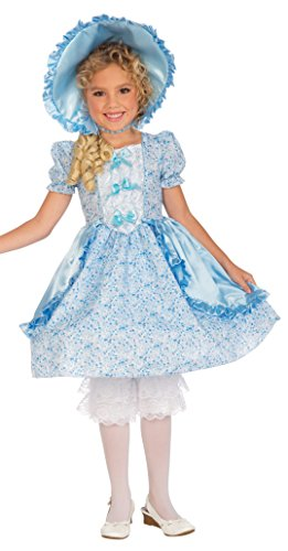 Forum Novelties Girls Lil' Bo Peep Costume, Small, One Color
