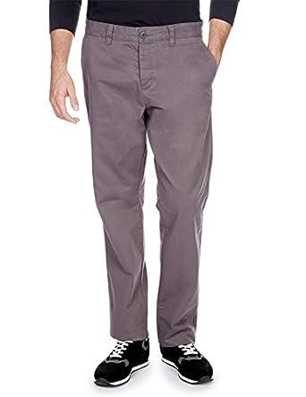 MONOPRIX HOMME - Pantalon slack - Homme - Taille : 38 - Couleur : ORAGE H
